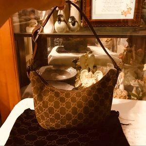 Gucci GG Hobo Shoulder Bag